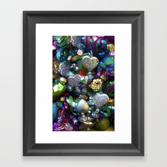 Colors of Love Framed Art Print