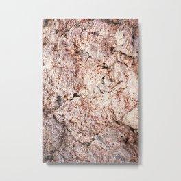 Iceland textutre i Metal Print