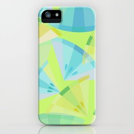 Citrus Blue iPhone Case