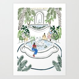 Glyptoteket of Copenhagen Art Print