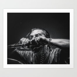 Mike Patton | double fisting Art Print