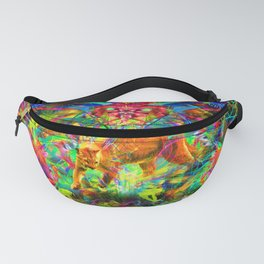 The Laser Focus of Couger Conciousness Fanny Pack