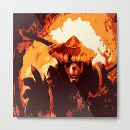 master panda Metal Print