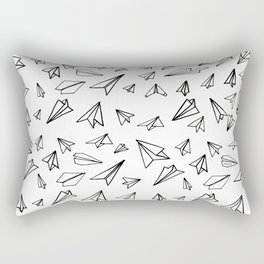 Paper planes Rectangular Pillow