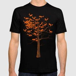 Blazing Fox Tree T-shirt