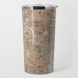 Milan, Italy / Milano, Italia antique map Travel Mug