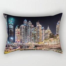 Dubai Marina Rectangular Pillow