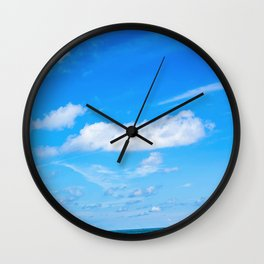 Cielo Azul Wall Clock
