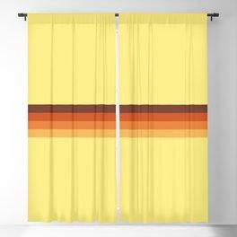 Retro Tepegoz Blackout Curtain