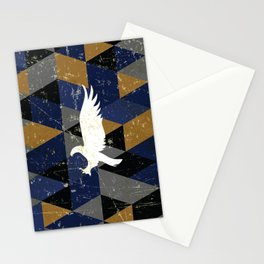 Ravenclaw House Pattern Stationery Cards