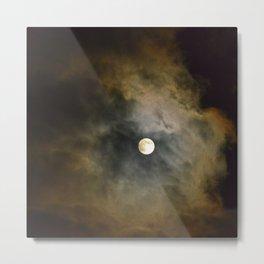 Lunar Corona  Metal Print