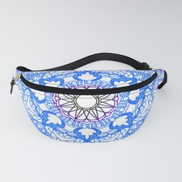 Blue Mandala Fanny Pack