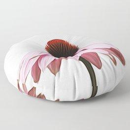 Single Pink Flower Floor Pillow