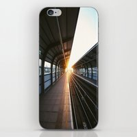 jewish iPhone & iPod Skins featuring The light at the end of the tunnel by Brown Eyed Lady