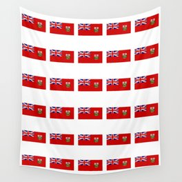 Flag of manitoba -Manitoban,rupert,Winnipeg,Brandon,Steinbach,portage,canada. Wall Tapestry