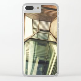 Contemporary Building Clear iPhone Case