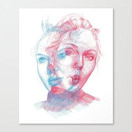t  w  o Canvas Print