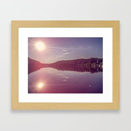 Wakefield Dawning Framed Art Print