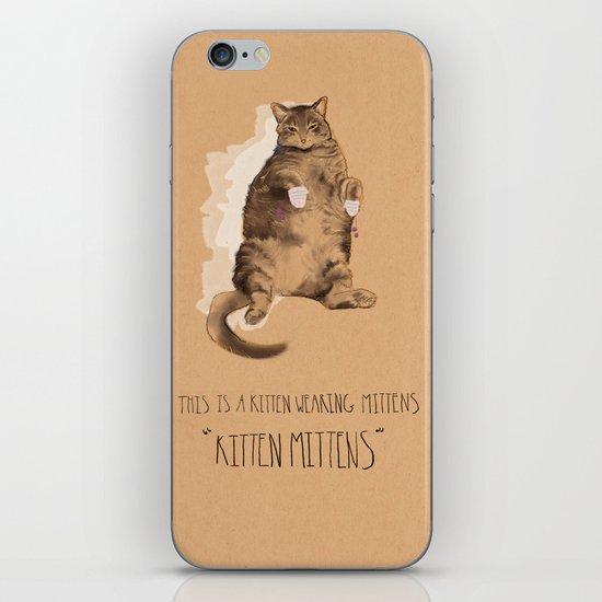 Kitten Mittens iPhone & iPod Skin