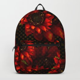 SUNFLOWERS OF AUTUMN HARVEST Backpack