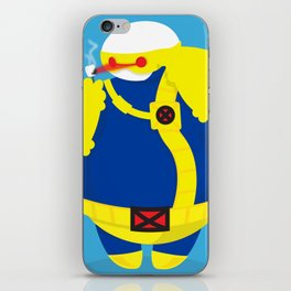 Cyclops x baymax (Cymax) iPhone Skin