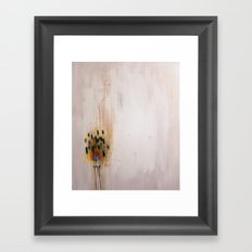 Burn Down Pretty Framed Art Print