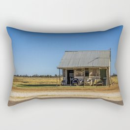 Lone Hut, Outback Australia Rectangular Pillow