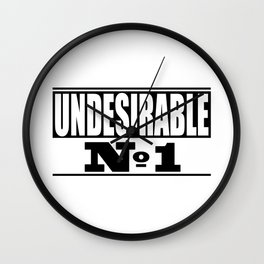 Undesirable Wall Clock