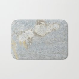 Blueish, rusty and old steel texture Bath Mat