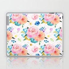 Pretty Watercolor Floral Laptop & iPad Skin