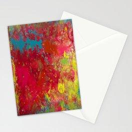 Tie-Dye Veins Stationery Cards
