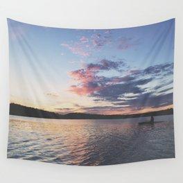 Sun Kayak Wall Tapestry