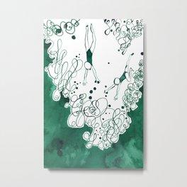 Divers Metal Print