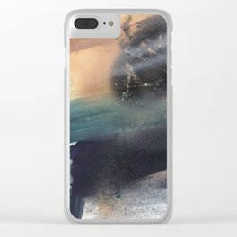 Controlled Chaos Clear iPhone Case