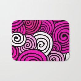 African Style No23, Pink dance Bath Mat