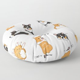 Corgi Pawty Floor Pillow