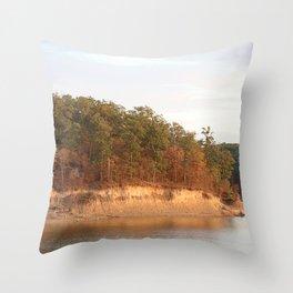 Wolf Creek Park Bluff Throw Pillow