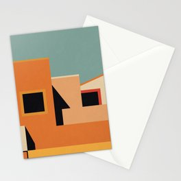 Summer Urban Landscape Stationery Cards