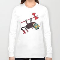 musa Long Sleeve T-shirts featuring stomp stomp stomp soul soul soul by musa
