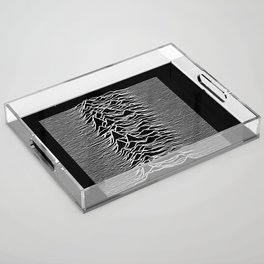 The Line Of Division Acrylic Tray