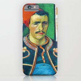 Vincent van Gogh - The Zouave - Digital Remastered Edition iPhone Case