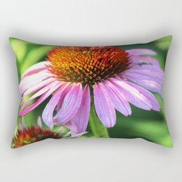 Cone Flower or Echinacea in Horicon Marsh Rectangular Pillow