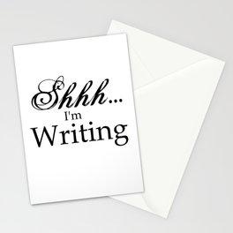 Shhh... I'm Writing Stationery Cards