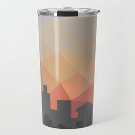 Sunset Cityscape Travel Mug