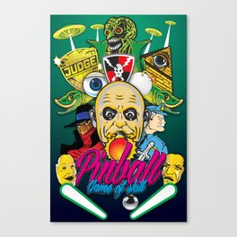 Pinball, Game of skill Canvas Print