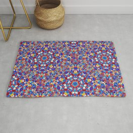 Japanese Breeze Kaleidoscope Rug