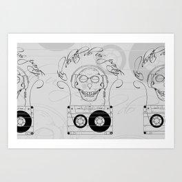 Til Death Do Us Party Art Print