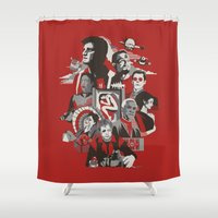 firefly Shower Curtains featuring Firefly: Serenity by Danny Haas
