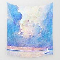 sail Wall Tapestries featuring Sail by Acacia Alaska