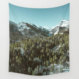 Blue Winter Wall Tapestry